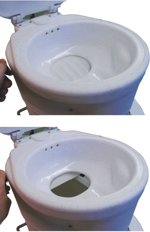 Advantages Air Head Composting Toilet For Boats Rvs