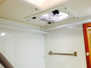 roof vent air head installation