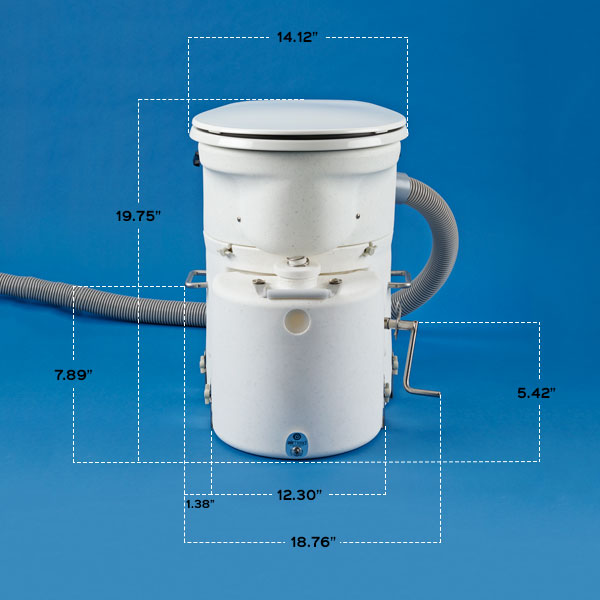 Air Head Composting Toilet (Complete Unit) - Air Head Composting ...