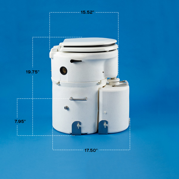 Details   Dimensions. Details   Dimensions   Air Head Composting Toilet   For Boats  RVs